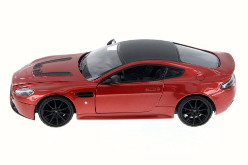 Aston Martin V12 Vantage S Coupe, Red - Motor Max 79322L - 1/24 Scale Diecast Model Toy Car