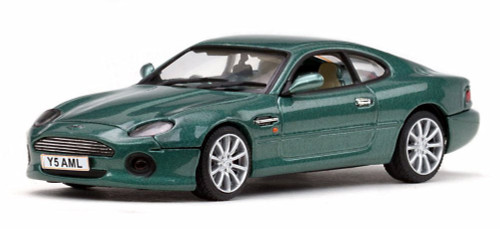 Aston Martin DB7 Vantage, Green - Sun Star 20650 - 1/43 Scale Diecast Model Toy Car