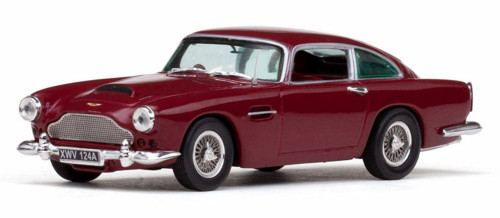 Aston Martin DB4, Maroon - Sun Star 20500 - 1/43 Scale Diecast Model Toy Car