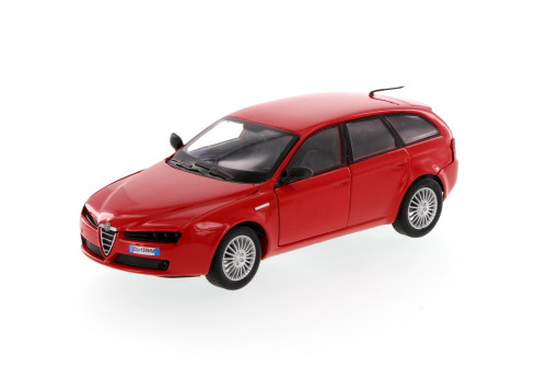 Alfa Romeo 159SW, Red - Showcasts 73372 - 1/24 Scale Diecast Model Toy Car