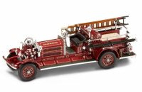 1925 Ahrens-Fox N-S-4 Fire Engine Baltimore, Red - Yatming 43004 - 1/43 Scale Diecast Model Toy Car