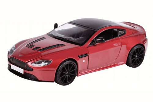 Aston Martin V12 Vantage S Coupe, Red - Motor Max 79322R/6 - 1/24 Scale Diecast Model Toy Car