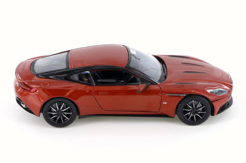 Aston Martin DB11, Dusk Orange - Motor Max 79345/16D - 1/24 Scale Diecast Model Toy Car