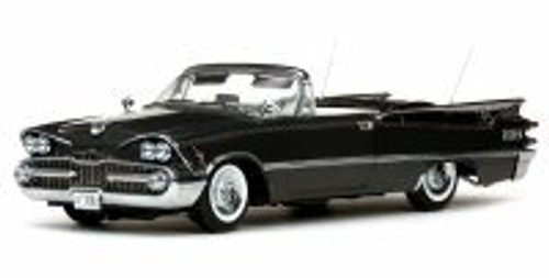 1959 Dodge Custom Royal Lancer Open Convertible, Black - Sun Star 5472 - 1/18 Scale Diecast Model Toy Car