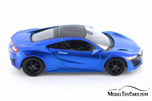 2018 Acura NSX Hardtop, Blue - Showcasts 34234 - 1/24 scale Diecast Model Toy Car