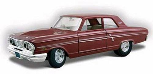 1964 Ford Fairlane Thunderbolt, Maroon - Maisto Special Edition 31957MR - 1/24 scale diecast model car