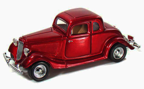 1934 Ford Coupe, Red - Showcasts 73217 - 1/24 Scale Diecast Model Car (Brand New, but NOT IN BOX)