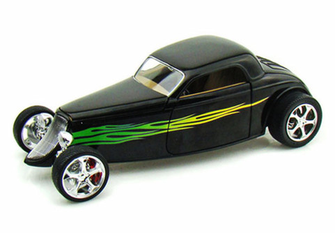 1933 Ford Coupe, Black - Road Signature 92839 - 1/18 Scale Diecast Model Toy Car
