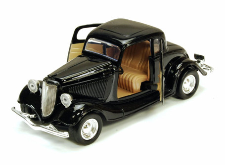 1934 Ford Coupe, Black - Showcasts 73217 - 1/24 Scale Diecast Model Car (Brand New, but NOT IN BOX)