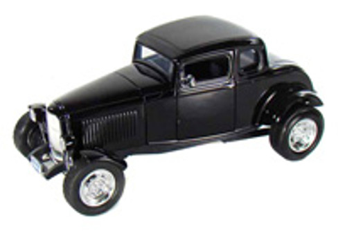 1932 Ford Coupe, Black - Motormax 73171 - 1/18 scale Diecast Model Toy Car