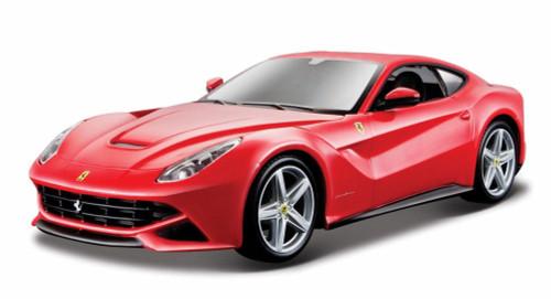 Ferrari F12 Berlinetta, Red - Bburago 26007 - 1/24 scale Diecast Model Toy Car