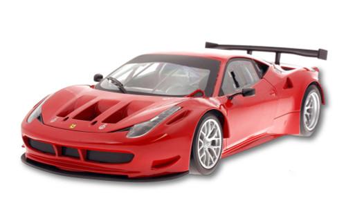 Ferrari 458 Italia GT2 - Rosso Corsa, Red - Mattel Hot Wheels BCJ77 - 1/18 Scale Diecast Model Toy Car