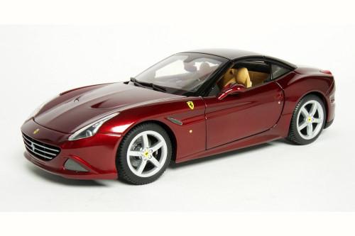 Ferrari California Closed Top, Red - Bburago 16902 - 1/18 Scale Diecast Model Toy Car