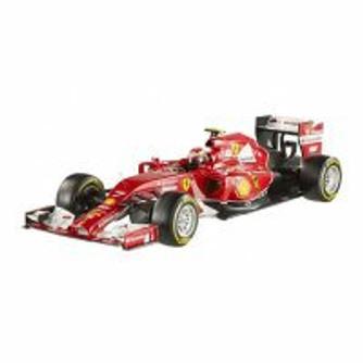 2014 Ferrari F2014 K. Raikkonen #7, Red - Mattel Hot Wheels Racing BLY68 - 1/18 Scale Diecast Model Car