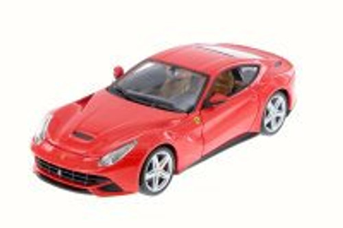 F12 Berlinetta, Red - Bburago 26007D - 1/24 Scale Diecast Model Toy Car (Brand New, but NOT IN BOX)