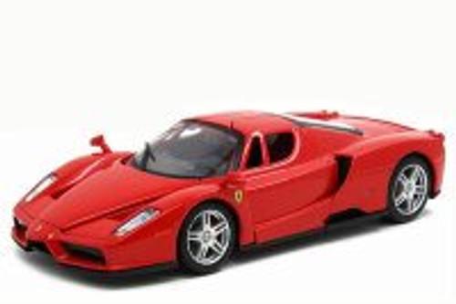 Ferrari Enzo, Red - Bburago 26056 - 1/24 scale Diecast Model Toy Car