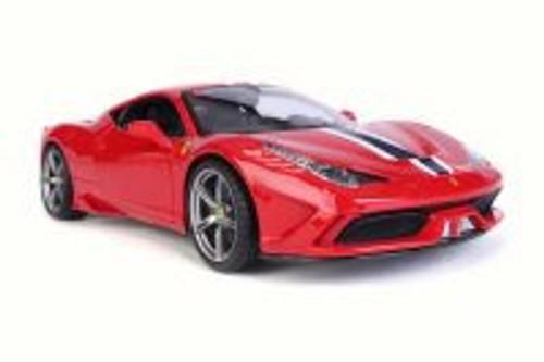 Ferrari 458 Speciale, Red - Bburago 16002R - 1/18 Scale Diecast Model Toy Car