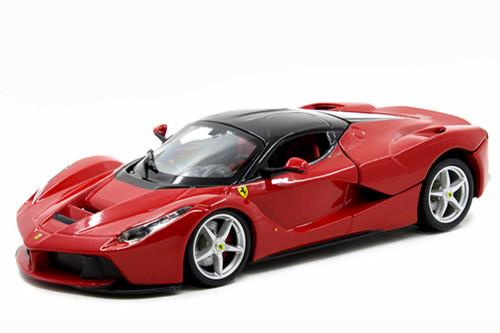 Ferrari La Ferrari, Red - Bburago 26051 - 1/24 scale Diecast Model Toy Car