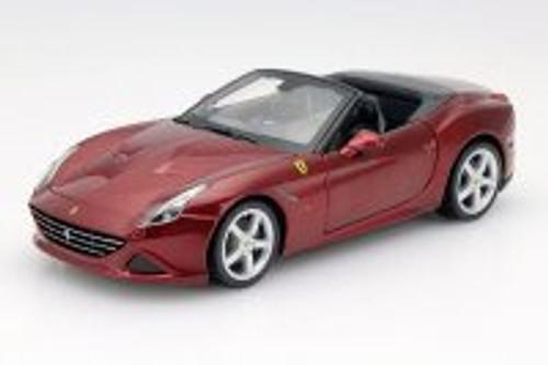 Ferrari California T (Open Top), Burgundy - Bburago 26011 - 1/24 Scale Diecast Model Toy Car