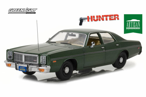 1977 Dodge Monaco, Hunter - Hunterlight 19045 - 1/18 Scale Diecast Model Toy Car