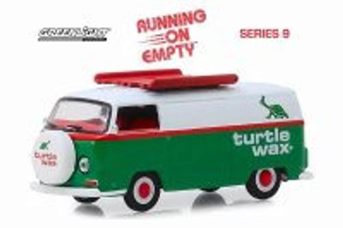 1972 Volkswagen Type 2 Panel Van, Turtle Wax - Greenlight 41090D/48 - 1/64 scale Diecast Model Toy Car