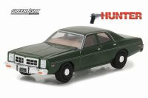 1978 Dodge Monaco (Hunter), Green - Greenlight 44780C/48 - 1/64 Scale Diecast Model Toy Car