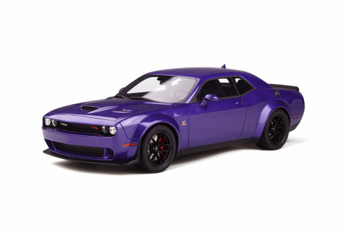 Dodge Challenger R/T Scat Pack Widebody Hardtop, Purple - GT Spirit GT248 - 1/18 scale Resin Model Toy Car