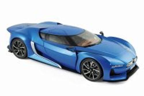 2008 Citroen GT, Blue - Norev 181613 - 1/18 Scale Diecast Model Toy Car