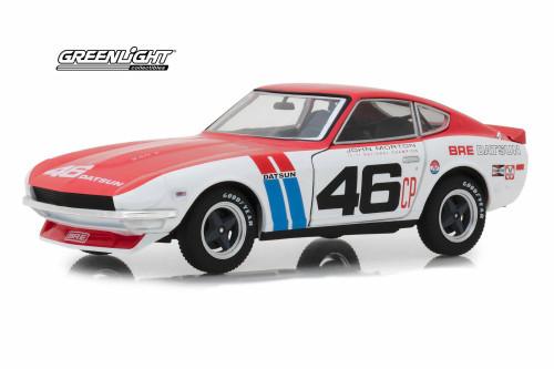 1970 Datsun 240Z Hard Top, Tokyo Torque BRE (Brock Racing Enterprises) #46 - Greenlight 18301 - 1/24 Scale Diecast Model Toy Car