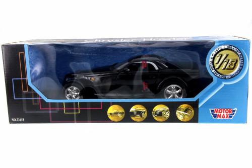 Chrysler Howler, Black - Motor Max 73118PL - 1/18 Scale Diecast Model Toy Car