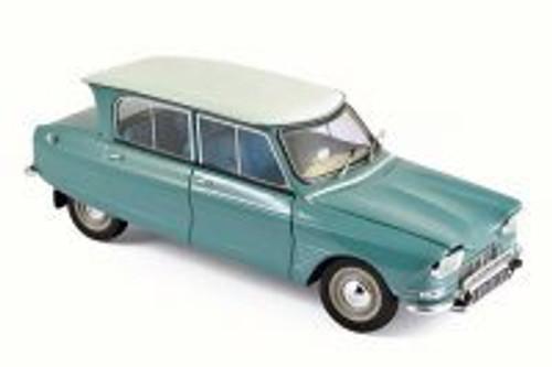 1964 Citroen Ami 6, Jade Green - Norev 181536 - 1/18 Scale Diecast Model Toy Car