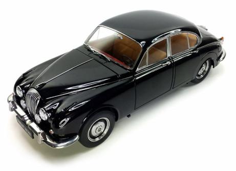 1967 Daimler V8-250Hard Top, Black - Paragon 98311 - 1/18 scale Diecast Model Toy Cars