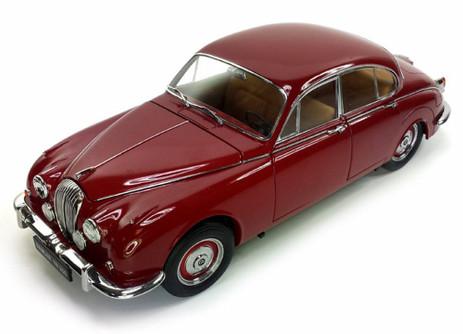 1967 Daimler V8-250 Hard Top, Regency Maroon - Paragon 98312M - 1/18 scale Diecast Model Toy Cars