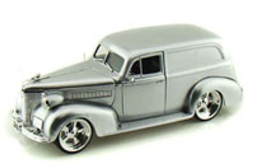 1939 Chevy Sedan Delivery, Silver - Jada Toys Bigtime Kustoms 96366 - 1/24 scale Diecast Model Toy Car (Brand New, but NOT IN BOX)