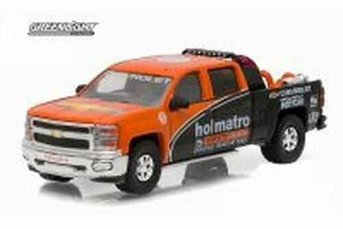 2015 Chevy Silverado Pickup Truck, IndyCar Safety Team with Safety Equipment - Greenlight 51033 - 1/64 scale Diecast Model Toy Car