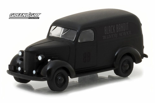 1939 Chevy Panel Truck, Black - Greenlight 27930F/48 - 1/64 Scale Diecast Model Toy Car