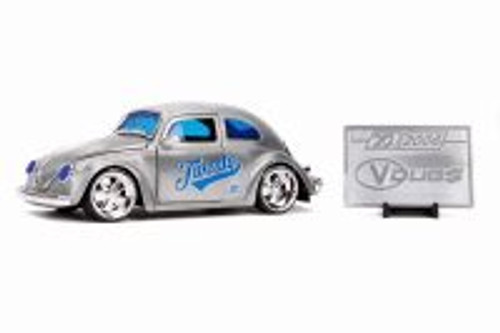1959 Volkswagen Beetle with Diecast Mosaic Tile, 20th Anniversary - Jada 31083 - 1/24 scale Diecast Model Toy Car
