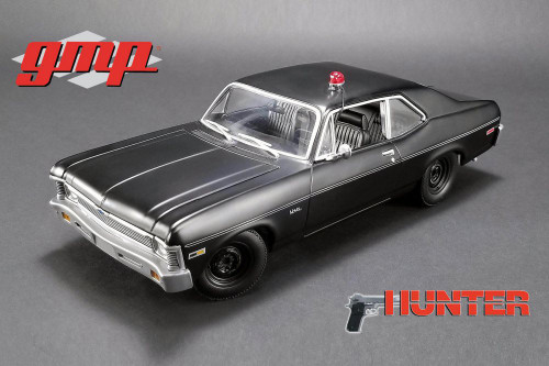 1971 Chevy Nova Police, 'Hunter' - GMP 18903 - 1/18 Scale Diecast Model Toy Car