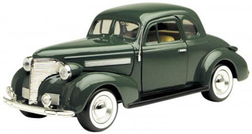 1939 Chevy Coupe, Green - Motormax 73247 -1/24 scale Diecast Model Toy Car