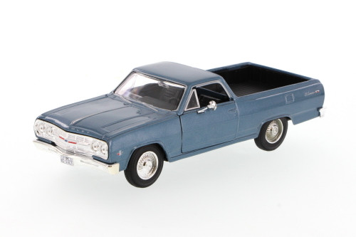 1965 Chevy El Camino, Blue - Showcasts 34977 - 1/24 Scale Diecast Model Toy Car
