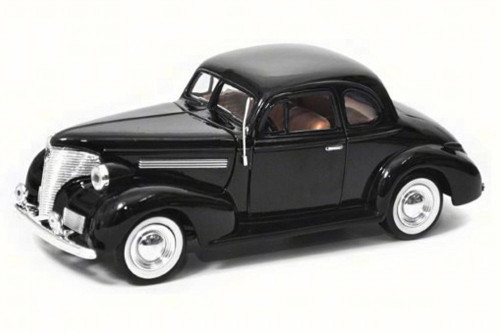 1939 Chevy Coupe, Black - Motor Max 73247AC - 1/24 Scale Diecast Model Toy Car