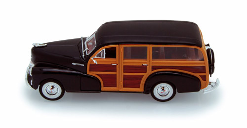 1948 Chevy Fleetmaster, Brown - Welly 22083 - 1/24 scale Diecast Model Toy Car