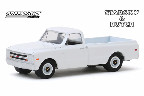 1968 Chevy C-10 Pickup Truck, Starsky and Hutch - Greenlight 44855D/48 - 1/64 scale Diecast Model Toy Car