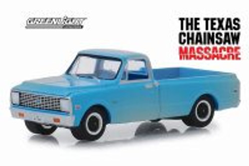 1971 Chevy C-10, The Texas Chainsaw Massacre - Greenlight 44820/48 - 1/64 scale Diecast Model Toy Car