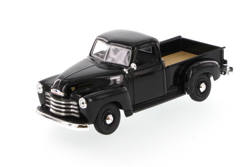 1950 Chevy 3100 Pickup Truck, Black - Showcasts 34952 - 1/24 Scale Diecast Model Toy Car (Brand New, but NOT IN BOX)