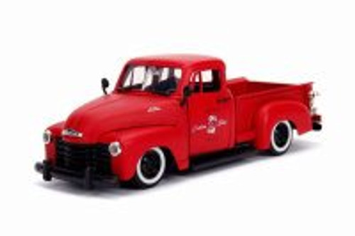 1953 Chevy 3100 Pick Up 'Custom Shop', Primer Red - Jada 99178 - 1/24 scale Diecast Model Toy Car