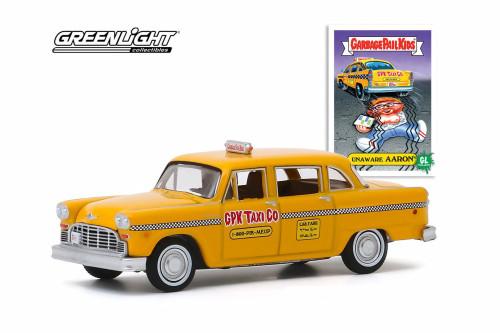 1970 Checker Marathon A11 Taxicab, Yellow - Greenlight 54030/48 - 1/64 scale Diecast Model Toy Car