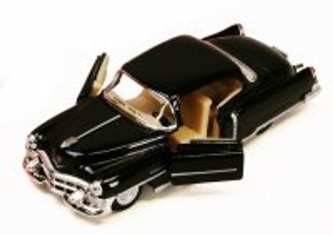 1953 Cadillac Series 62, Black - Kinsmart 5339D - 1/43 scale Diecast Model Toy Car (Brand New, but NOT IN BOX)