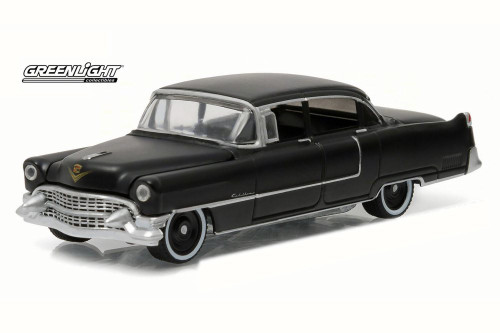 1955 Cadillac Fleetwood Series 60 Special , Black - Greenlight 27860A - 1/64 Scale Diecast Model Toy Car