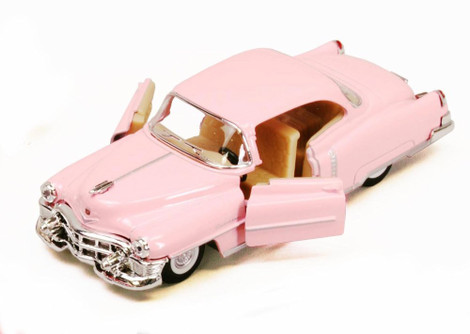 1953 Cadillac Series 62, Pink - Kinsmart 5339D - 1/43 scale Diecast Model Toy Car (Brand New, but NOT IN BOX)